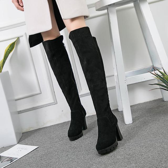 今年流行的这6双长靴穿出高挑细腿长, 女神修腿利器 6