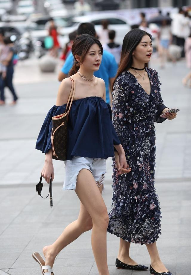 重庆街头一组高质量的美女街拍