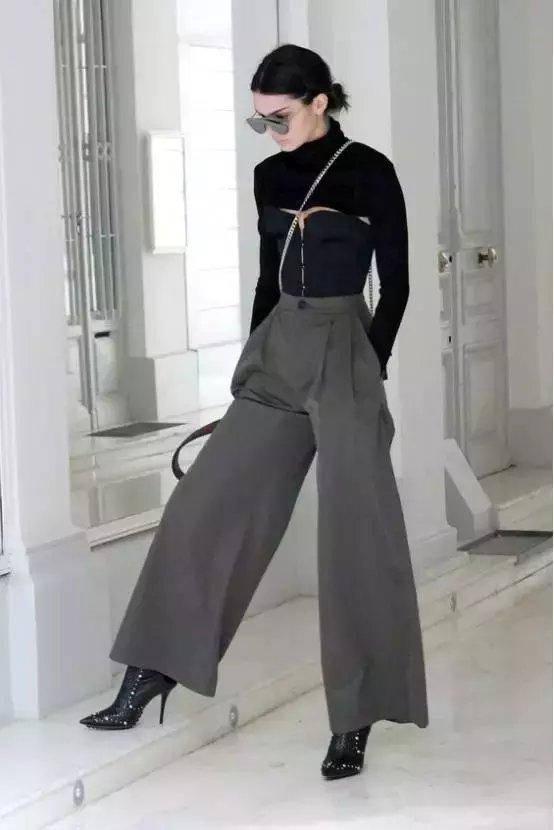 今年秋冬流行不露腿! 有这3条裤子才时髦! 18