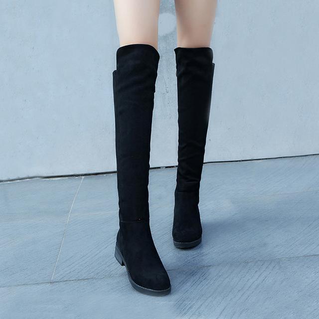 今年流行的这6双长靴穿出高挑细腿长, 女神修腿利器 7