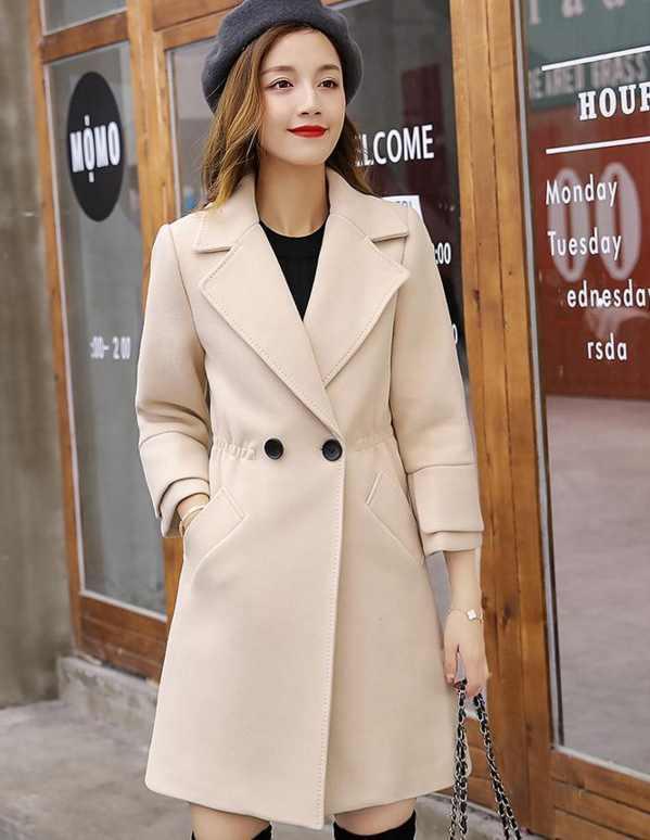 让你显高显瘦, 就多买几款精致呢大衣, 可以洋气一冬天! 5