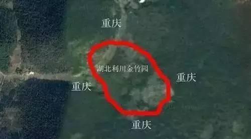 这栋房子一屋跨两省 住户吃在湖北睡在重庆