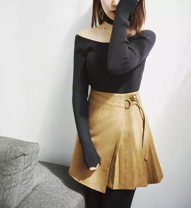 身材娇小不好搭衣? 快来围观时尚博主们是如何在冬季用毛衣凹造型的吧! 11