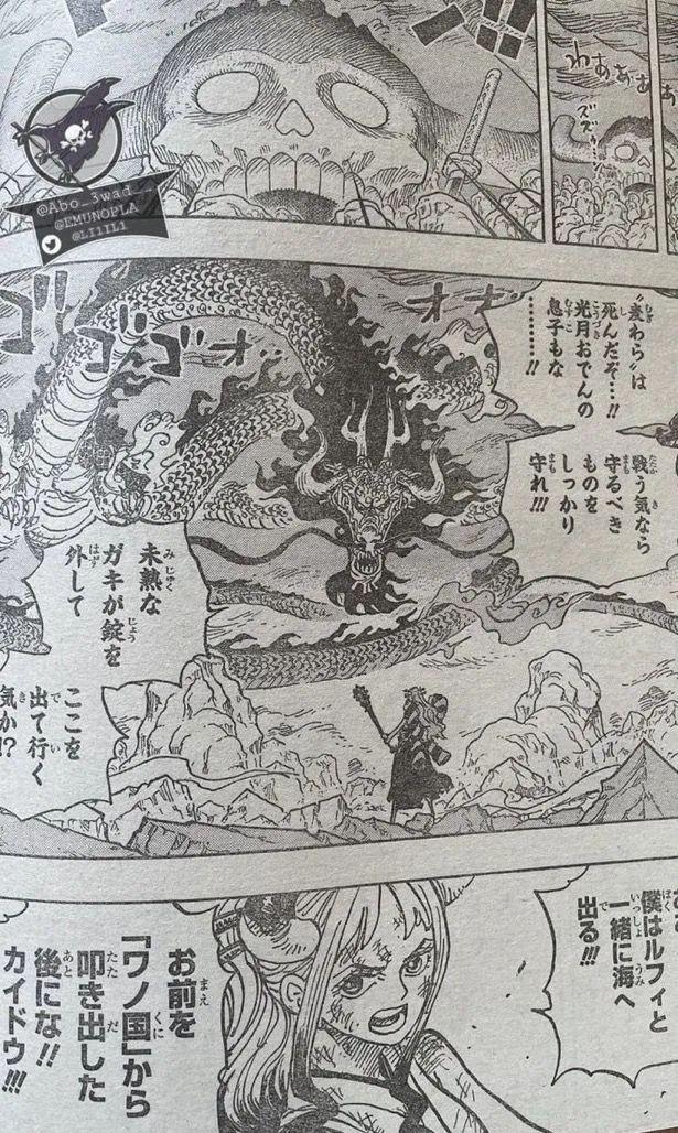 海賊王1016話, 宙斯進化, 大和確定要上船, 草帽團第11人誕生-圖7