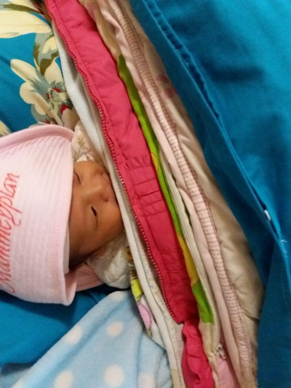 11月6号剖腹产儿子一枚, 儿女双全了