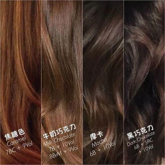 焦糖发色成刘诗诗新宠, 显白不挑肤色, 怪不得女明星都爱! 5