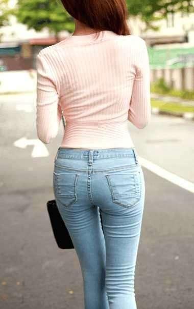 只需一条牛仔裤, 让你瞬间女神范 2