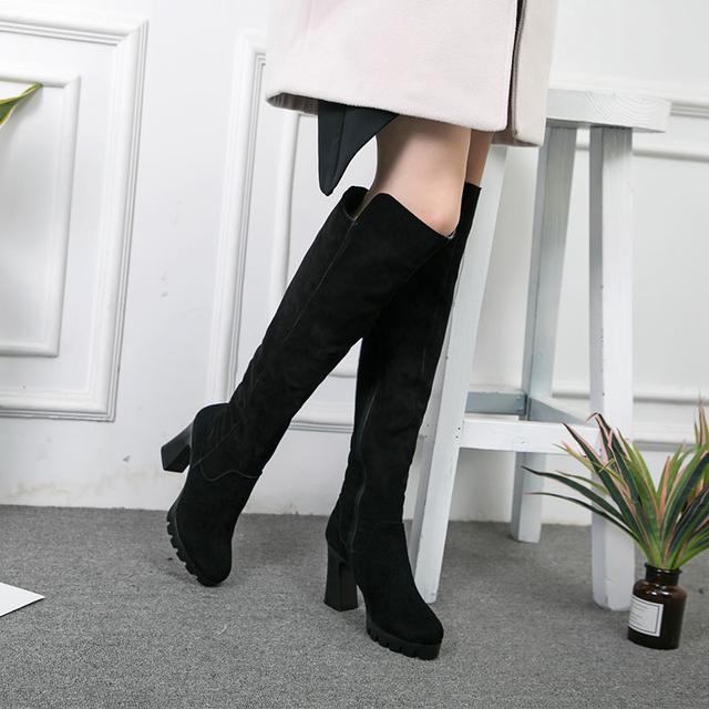 今年流行的这6双长靴穿出高挑细腿长, 女神修腿利器 5