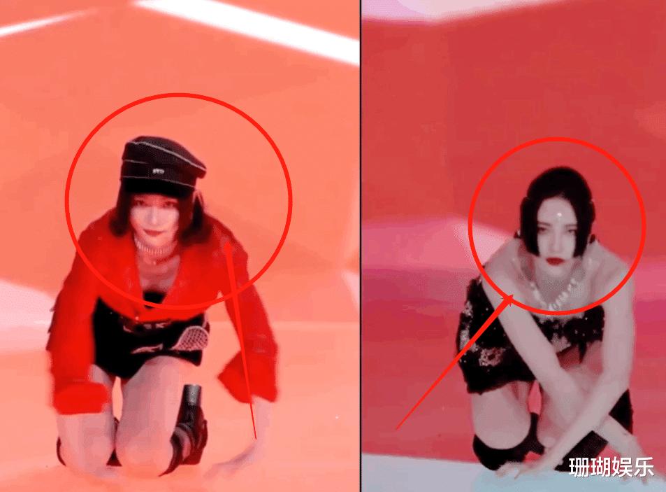 許佳琪蠍子腿上熱搜, 看清她跳舞時的鞋子, 舞蹈功底如何一目瞭然-圖4