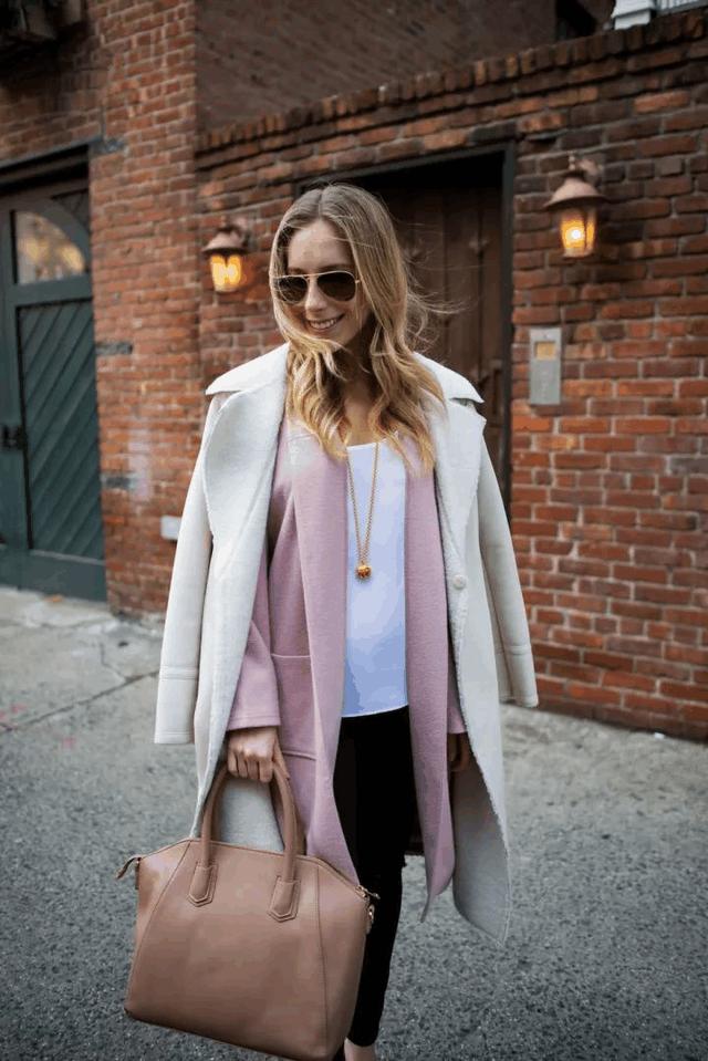 今年冬天穿这显贵的颜色, 保暖又时髦的大衣 21