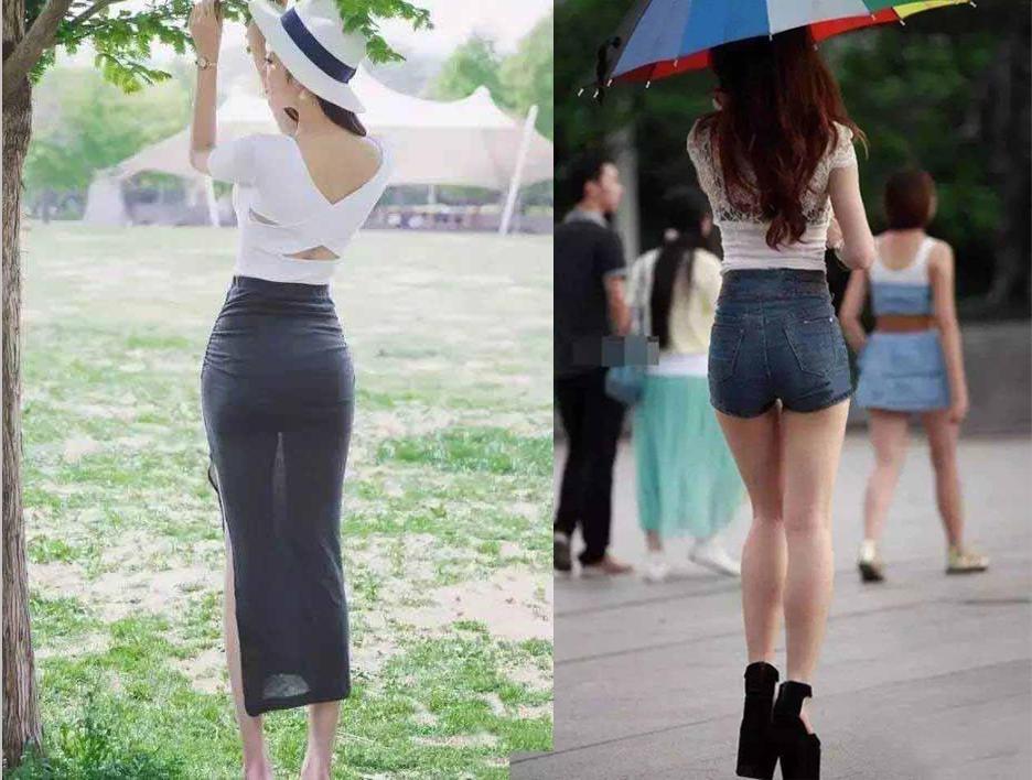 """短裤短裙为爱美的你打造一身""""背影杀""""!"""