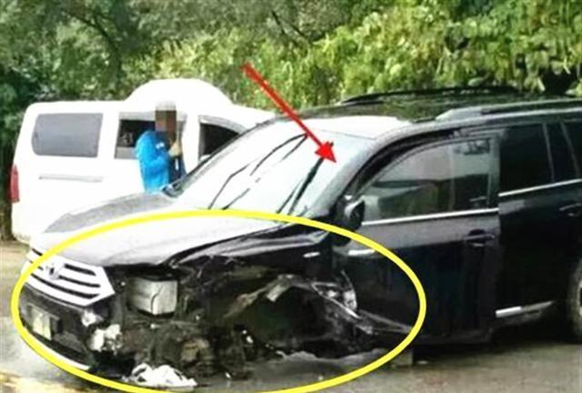 比亞迪撞上漢蘭達, 看到車損車主臉都黑瞭: 日系車國產車差距太大-圖4