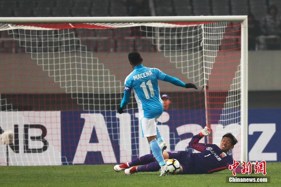 上港1: 0胜清莱联进正赛 捍卫亚冠主场不败纪录
