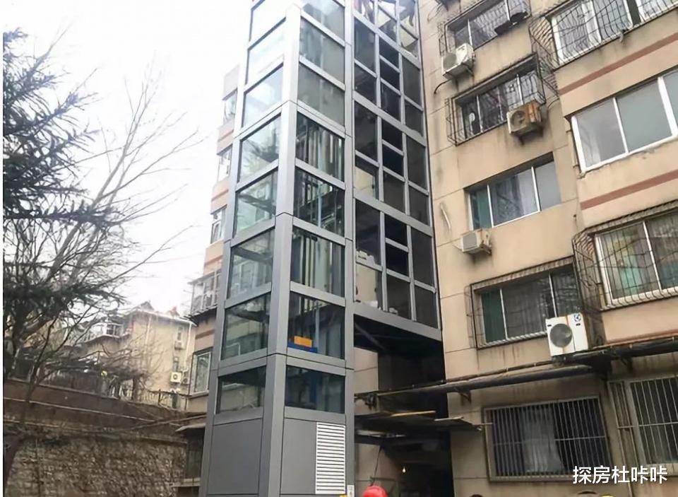 """老小區加裝電梯不用爭瞭, """"新方案""""提出, 樓上樓下再也不也吵瞭-圖2"""