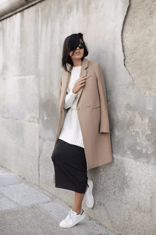 今年冬天穿这显贵的颜色, 保暖又时髦的大衣 13