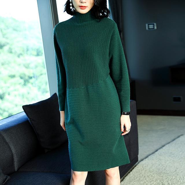 这样的裙装穿着才显瘦, 随便出门都好看 22