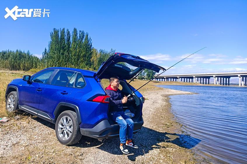 開車去釣魚和露營 威蘭達雙擎用車體驗-圖18