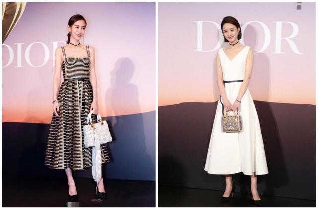 赵丽颖真的是穿衣黑洞? 代言Dior被喷, 与Baby同框被吊打! 1