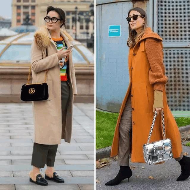 大衣+裤子, 温暖又有范 8