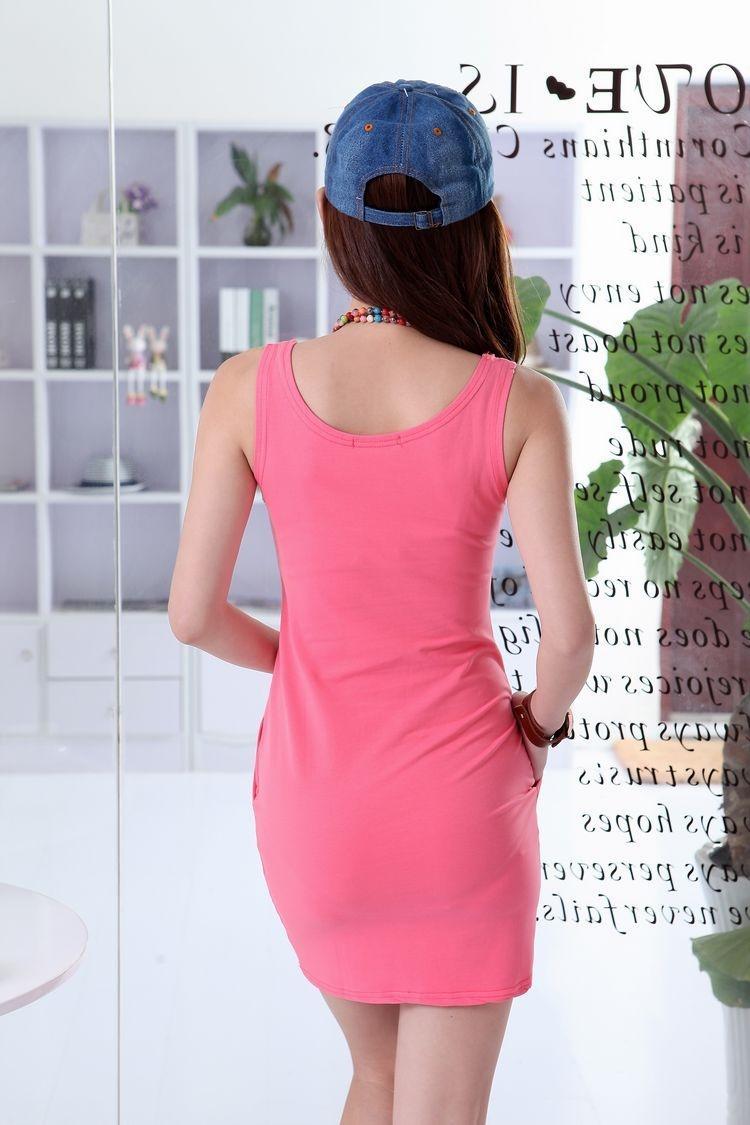 连衣裙迷人的装扮, 成为一道亮丽的风景线 6