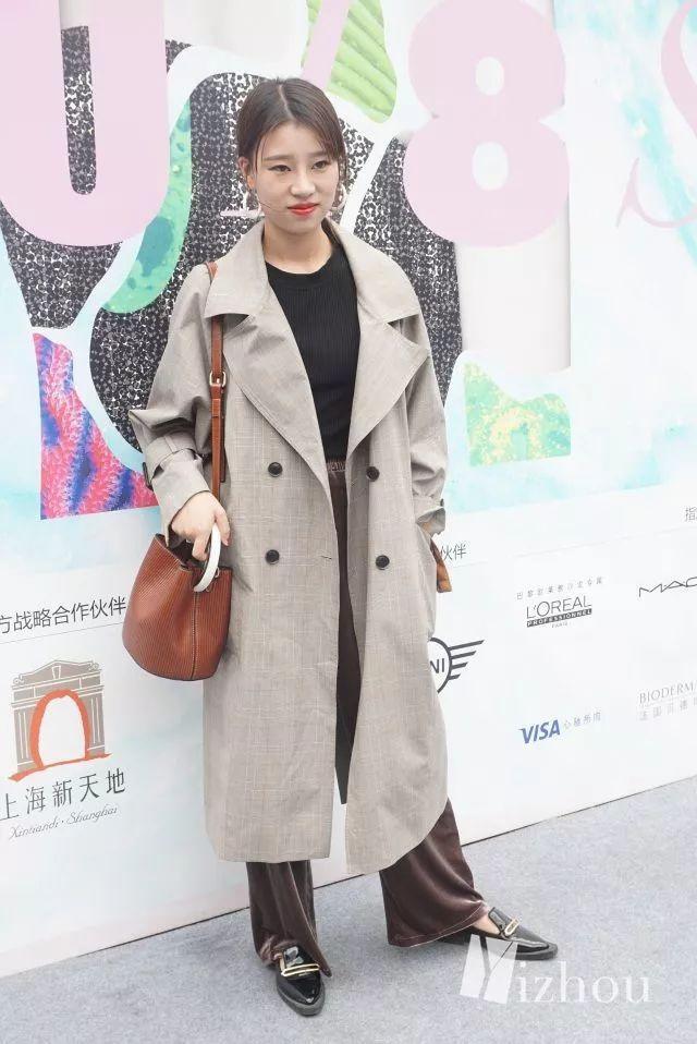 上海时装周的街拍又来刷新三观了 6