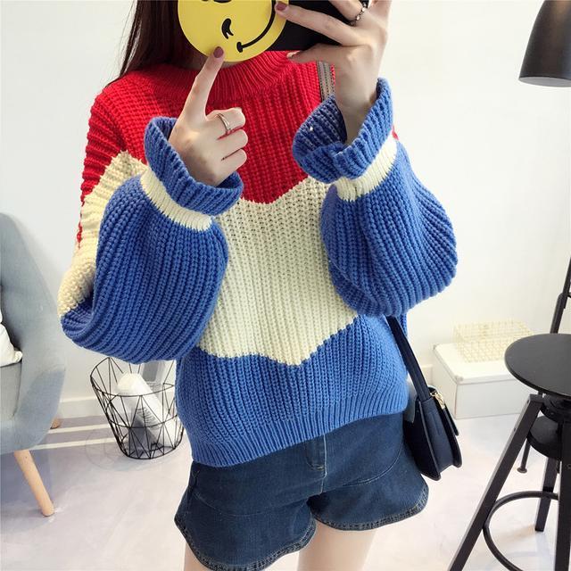 原来明星也穿这样的毛衣时尚又洋气 7
