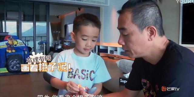 爸爸去哪儿: 性格应采儿, 外貌陈小春, 神似小鱼儿! 英语比我好!