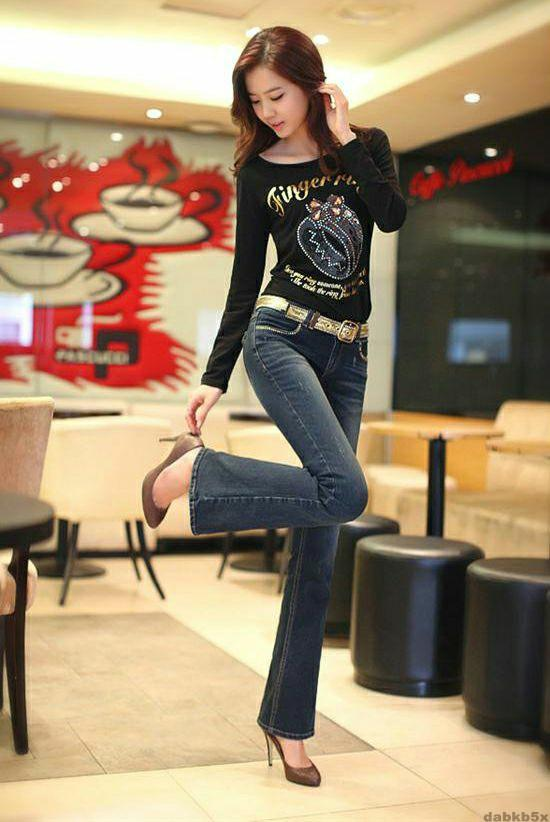 牛仔裤带来的俏美身姿, 诠释你的美 1