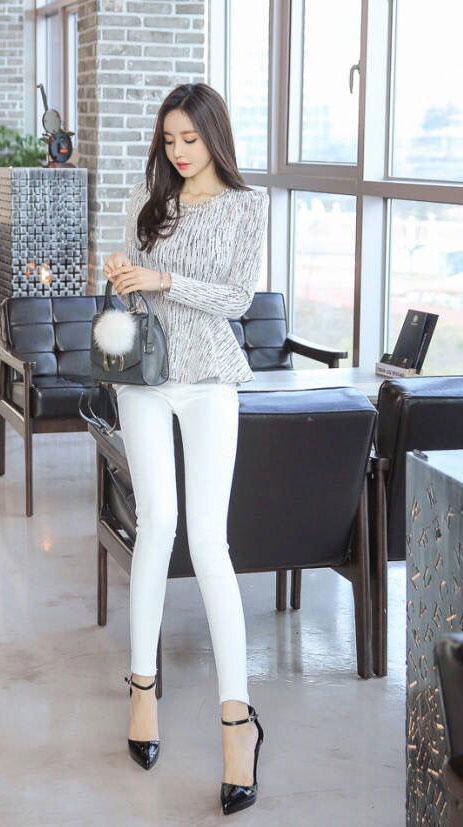 紧身裤让你的穿搭多姿多彩, 轻松呈现精致干练女神范 4