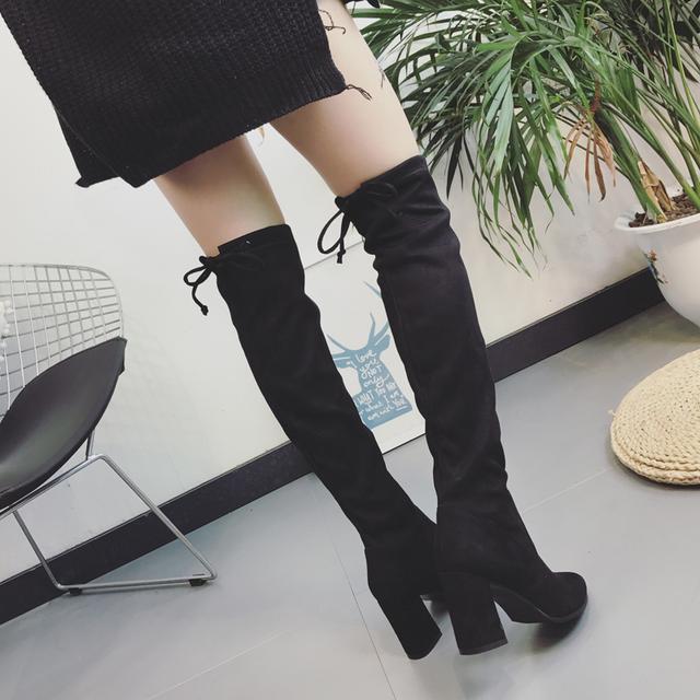 今年流行的这6双长靴穿出高挑细腿长, 女神修腿利器 10