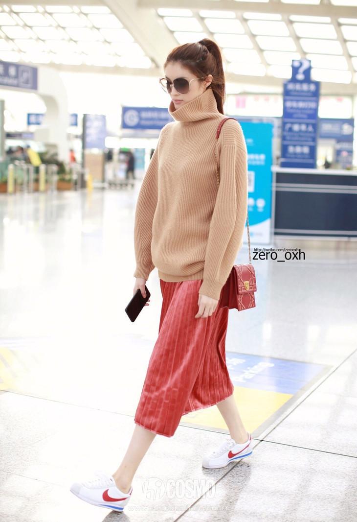时髦办 | 刘雯的呢子裙何穗的百褶裙, 超模的最爱你也能穿? 5