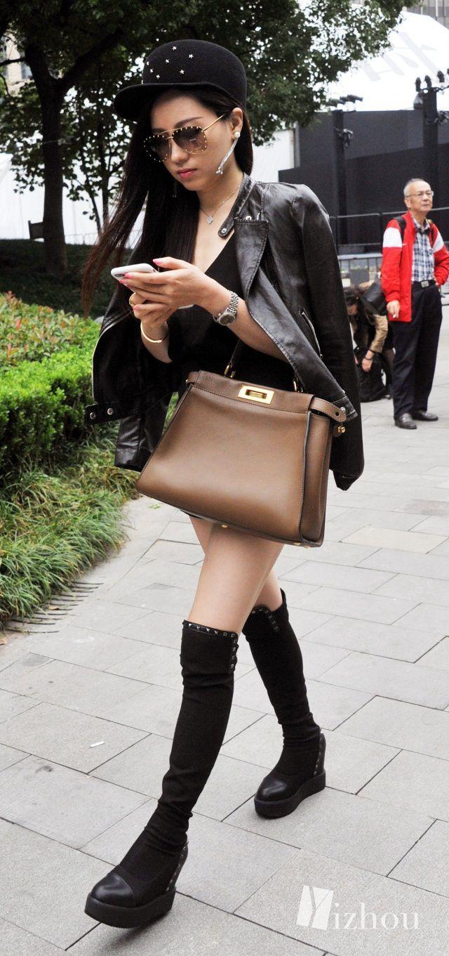 上海时装周的街拍又来刷新三观了 20