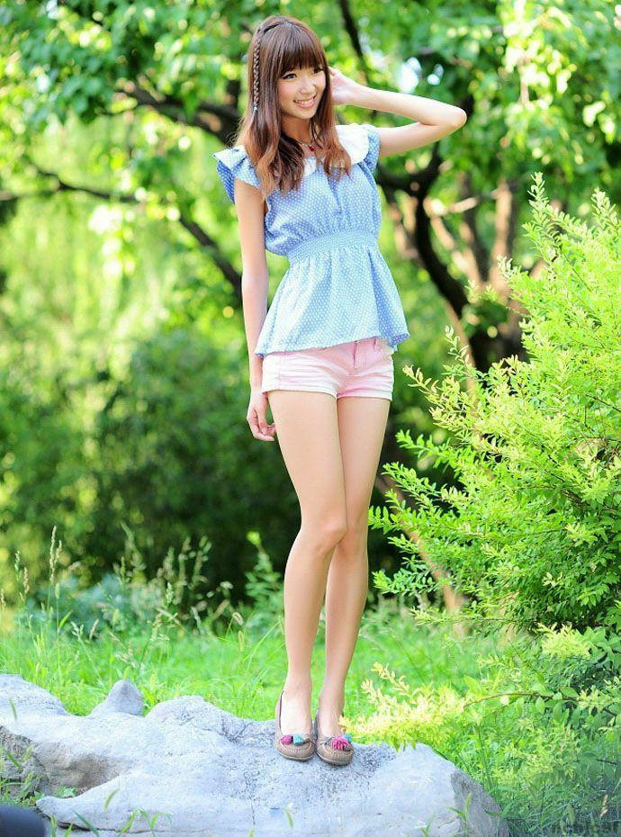 热裤穿出美美曲线, 气质优雅 5