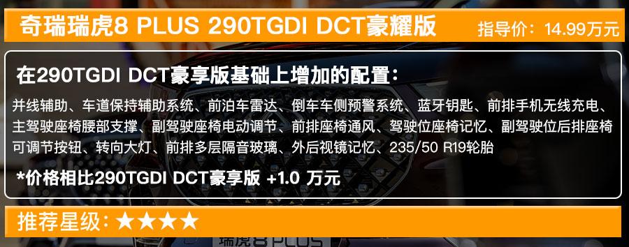 奇瑞瑞虎8 PLUS售12.49萬起, 搭1.6T發動機的五款車型選哪款最值?-圖7