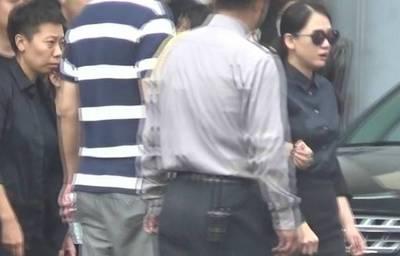 车太贤守夜两天, 陈乔恩梅艳芳在好友送别会当场崩溃!