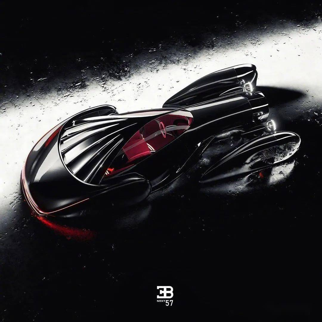佈加迪發佈Next-57概念轎車, 采用純電驅動, 外形蒸汽朋克范!-圖3