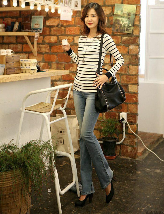 牛仔裤带来的俏美身姿, 诠释你的美 4