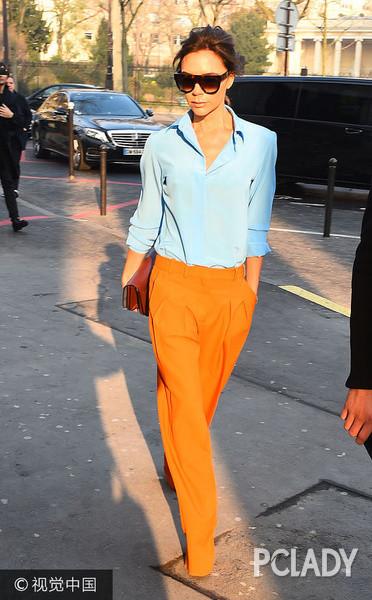 皮肤黄穿蓝色好看吗 这样穿让你的穿搭无槽点 1