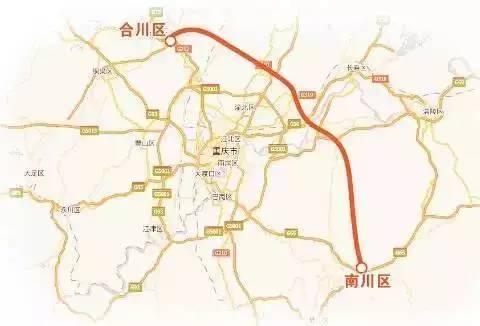 主城到南川将再添一高速公路!