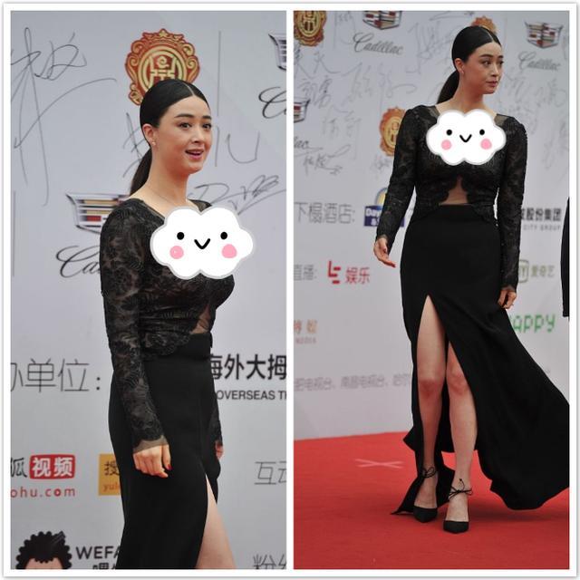 蔣欣的身材太招人喜歡瞭, 雖然看著肉嘟嘟的, 穿緊身裙卻很有魅力-圖7