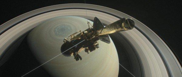 卡西尼号坠土星结束20年土星任务