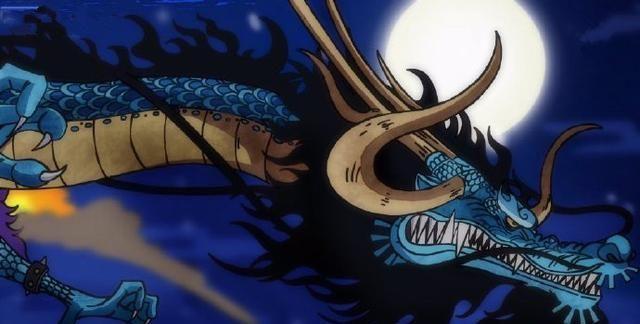 海賊王993話, 凱多不愧神龍果實能力者, 擁有風火雷三大攻擊手段-圖2
