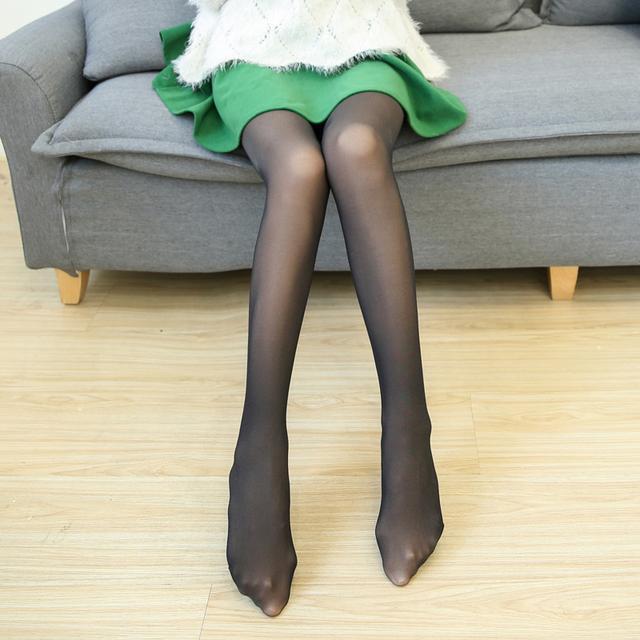 今年超流行假肉打底裤, 保暖又时髦, 村里的姑 7