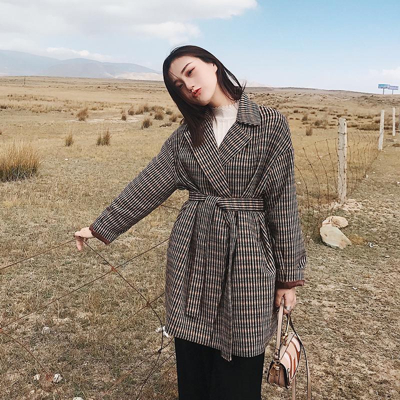 秋冬季出行, 百搭又显身材的呢子大衣师必备单品哦! 5
