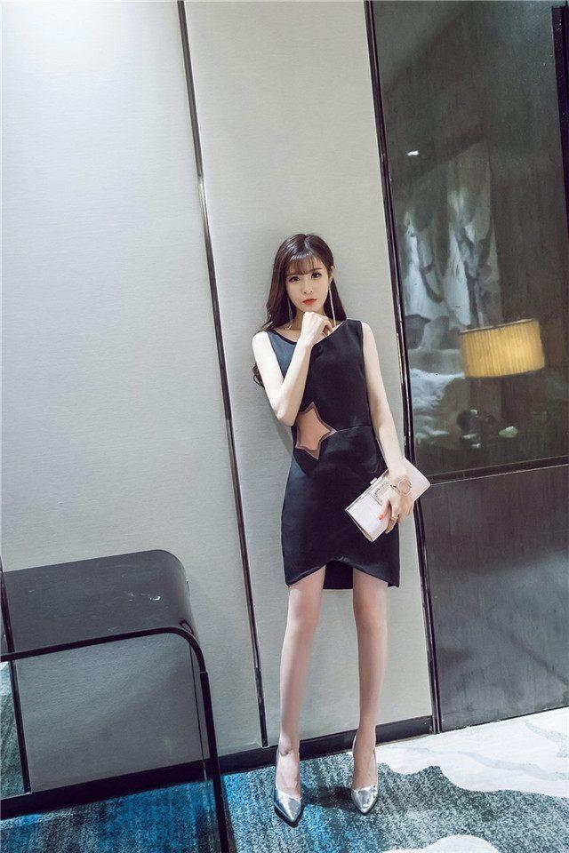 清凉显高的收腰包臀裙 拥有男神眷恋的目光 怎么看都很妩媚 4