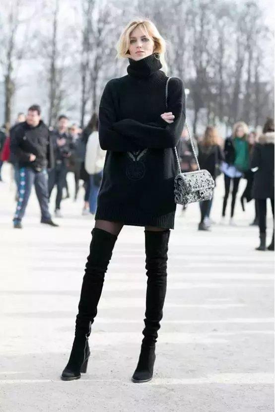 小腿粗就不要穿这种靴子, 秋冬最全的挑靴攻略都在这里了 3
