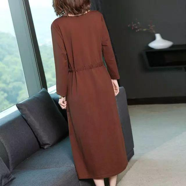会穿的女人不再穿打底衫或者针织衫, 因为今年流行打底裙, 真洋气 6