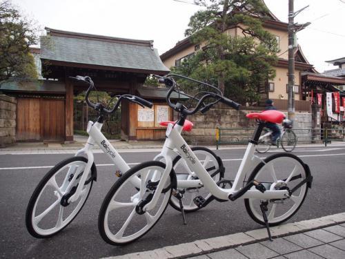 小米投资的共享单车品牌小白单车正式进军日本