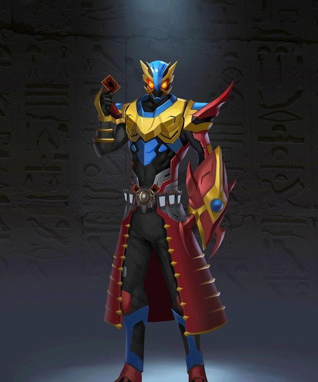 假面騎士:帝騎與空我的4種融合形態,能插2張卡,有6個天文開關-圖3