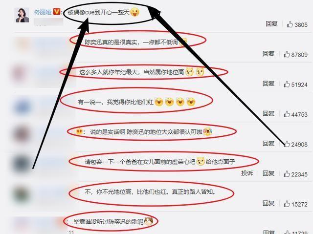 陳奕迅爆女兒心中的偶像上熱搜, 佟麗婭被cue心情激動, 我慕瞭-圖6